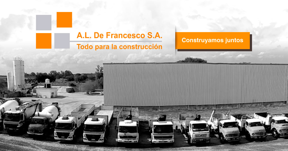 A. L. De Francesco S.A. - Materiales para la construcción